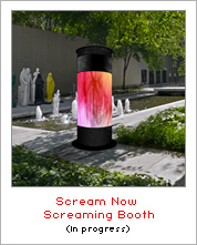 Scream Now: Screaming Booth